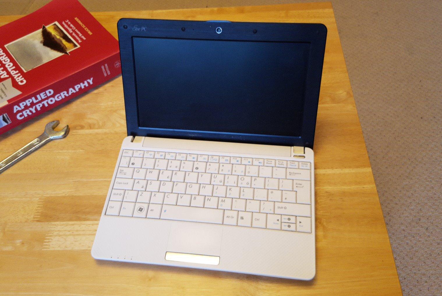 white netbook