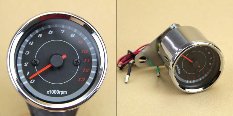 Controlling A Motorcycle Tachometer With Raspberry Pi Naughty. But Of Course It's A Tachometer So It Has Circuitry To Read Engine Speed Using Wire Going The. Wiring. One Wire Wiring Tackomiter At Scoala.co
